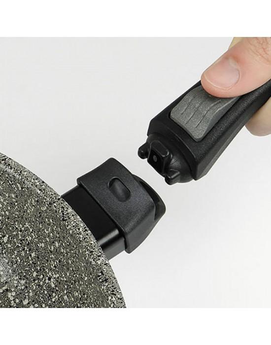 FLONAL MONOLITE - Тиган дълбок - 32 см, H 6.6 cm - индукция