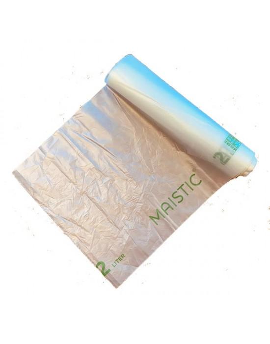 Maistic - 2 GEN Биоразградими/Компостируеми торби за храна 4 л./20 бр.