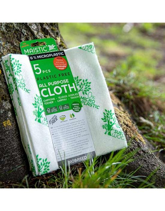 Maistic - MicroplasticFree домакински кърпи 32см/38 см - 5 бр.