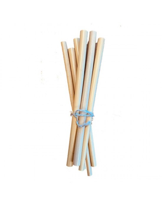 Maistic - Бамбукови сламки за многократна употреба - 6 бр.