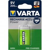 Акумулаторни батерии Varta Accu Power - 200 mAh 9V R2U 1 брой