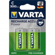 Акумулаторни батерии Varta Accu Power - 3000 mAh C R2U 2 броя