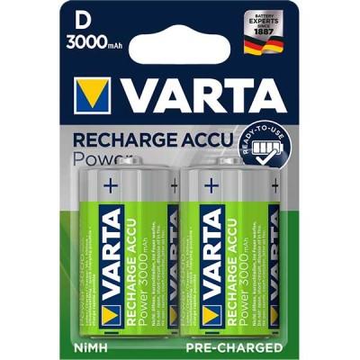Акумулаторни батерии Varta Accu Power - 3000 mAh D R2U 2 броя