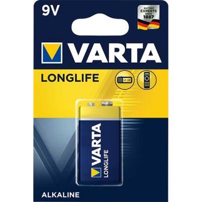 Алкални батерии Varta Longlife - 9V 1 брой