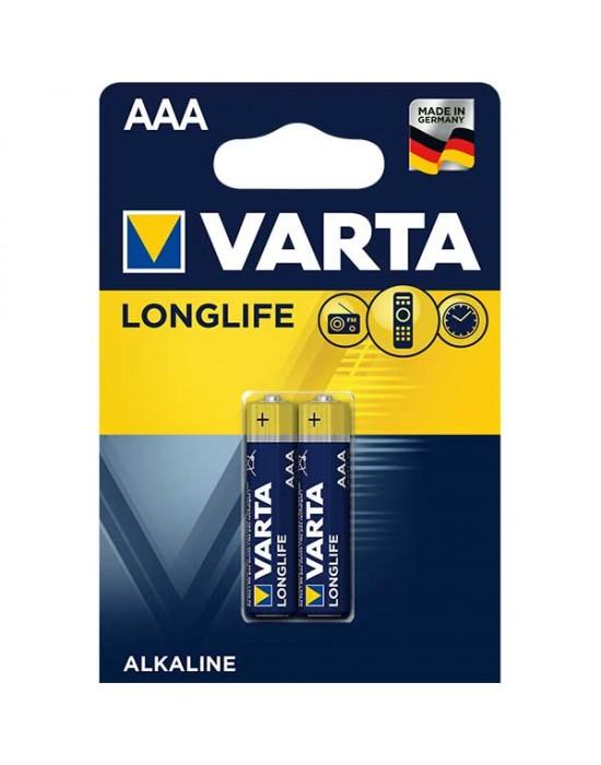 Алкални батерии Varta Longlife - ААА 2 броя