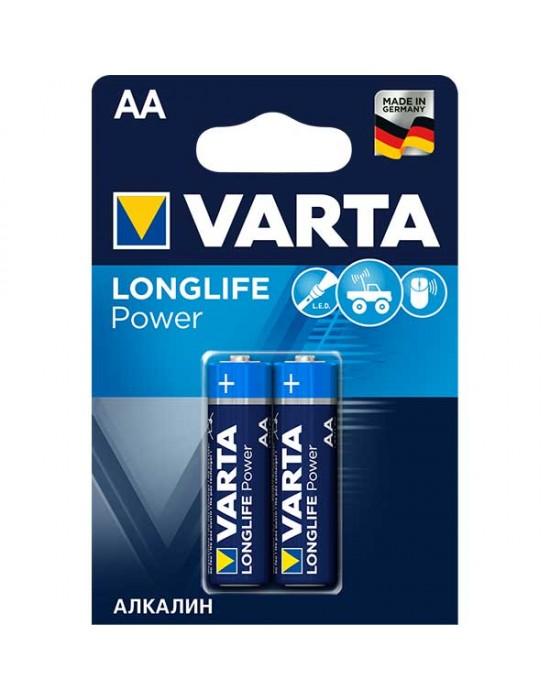 Алкални батерии Varta Longlife POWER - АА 2 броя