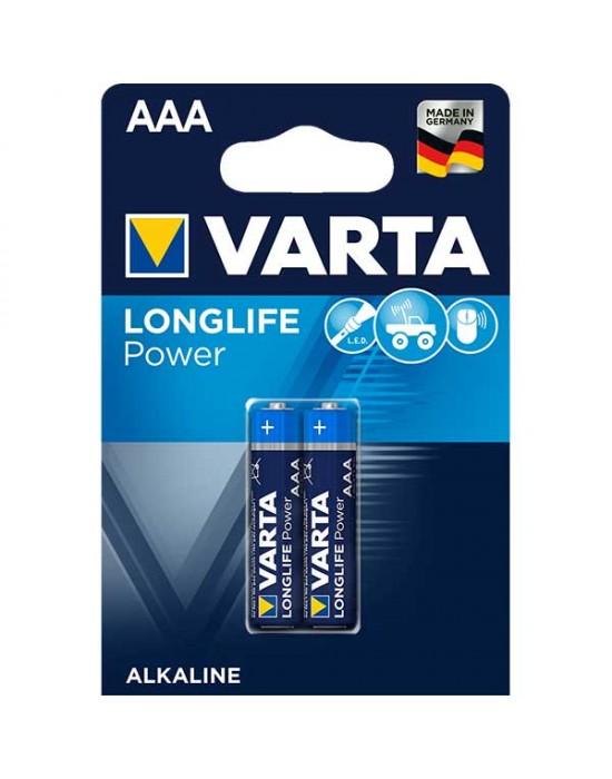 Алкални батерии Varta Longlife POWER - ААА 2 броя