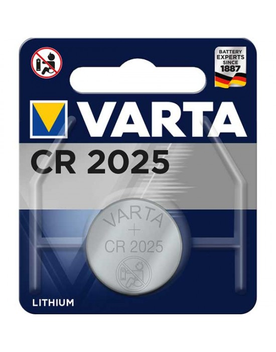 Батерия Varta Electronics Lithium CR 2025