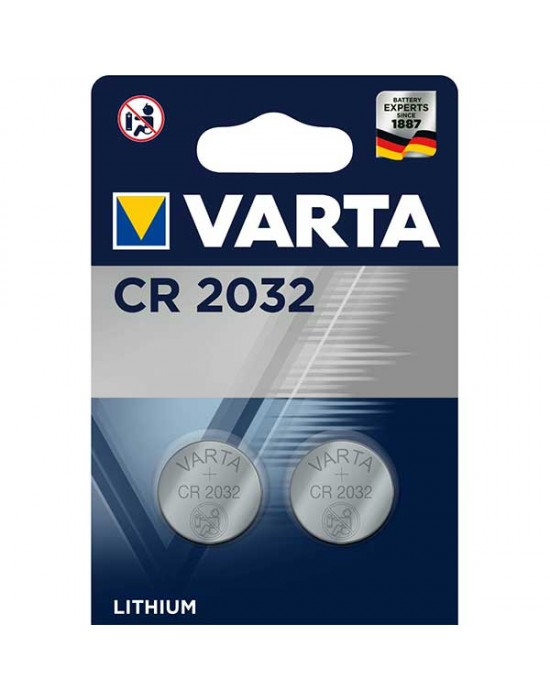 Батерия Varta Electronics Lithium CR 2032 - 2 броя