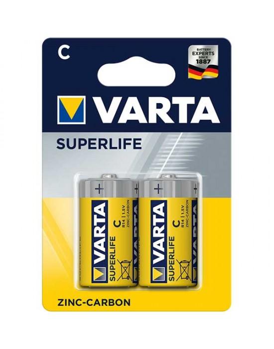 Цинкови батерии Varta Superlife блистер - С 2 броя