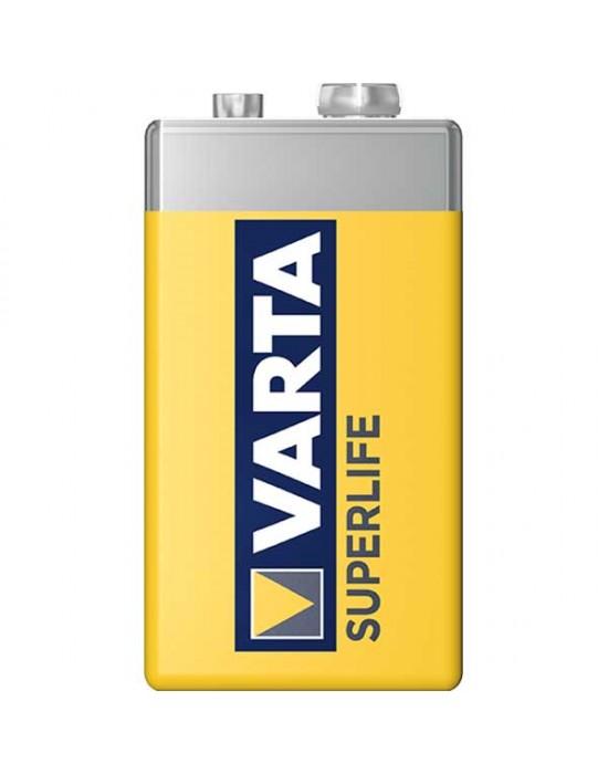 Цинкови батерии Varta Superlife фолио - 9V 1 брой