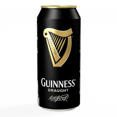 GUINNESS Draught in Can 440ml - БИРА ГИНЕС - 440ml КЕН
