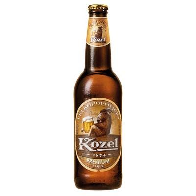 KOZEL bottle 500 ml - БИРА КОЗЕЛ 500 ml