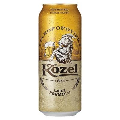 KOZEL Can 500 ml  - БИРА КОЗЕЛ 500 ml КЕН