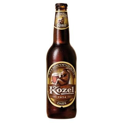 KOZEL DARK bottle 500 ml - БИРА КОЗЕЛ ДАРК  500 ml