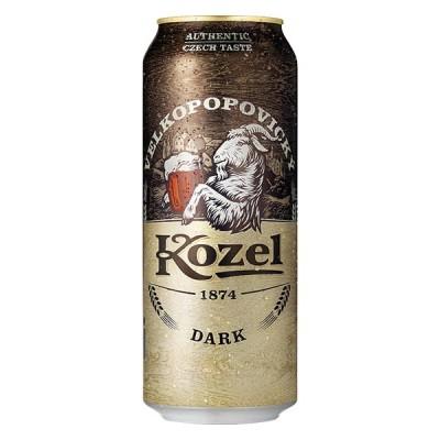 KOZEL DARK Can 500 ml - БИРА КОЗЕЛ ДАРК 500 ml КЕН