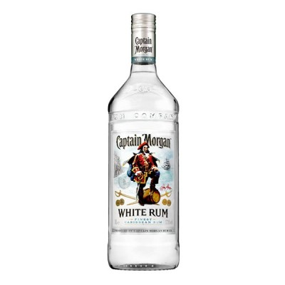 Captain Morgan White Rum 70cl  - РОМ КАПИТАН МОРГАН БЯЛ 0.70Л