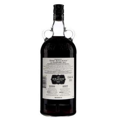 Rum Black Spiced Kraken 70cl - РОМ КРАКЕН БЛЕК СПАЙСД - 0.7Л