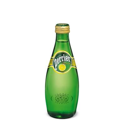 PERRIER 330ml Lemon - МИНЕРАЛНА ВОДА ПЕРИЕ ЛИМОН - 0.33л.
