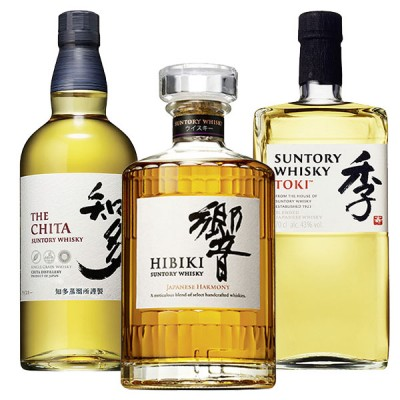 House of Suntory - HIBIKI + CHITA + TOKI - 43%