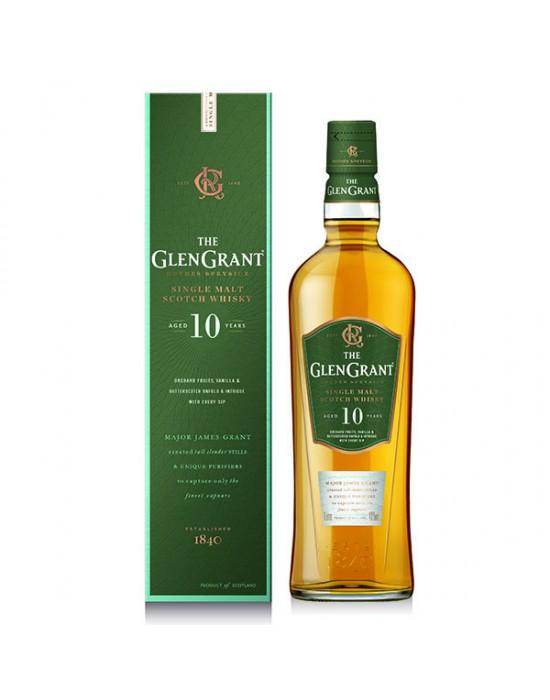 GLEN GRANT 10YO SINGLE MALT 40% 0.7 л