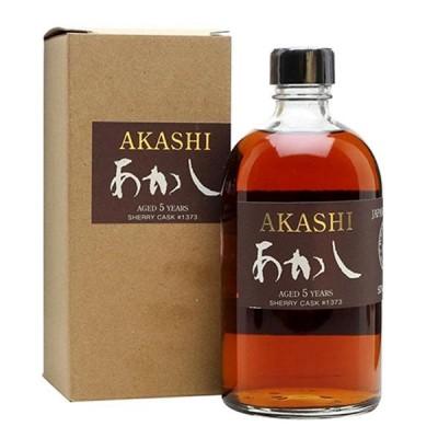 Akashi Single Malt 5 year old Sherry Cask  - УИСКИ АКАШИ ШЕРИ КАСК ФИНИШ 40% 0.5 л - ЛИМИТИРАНО