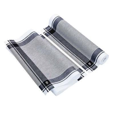 Antibacterial polishing cloth black mesh- 40/64cm