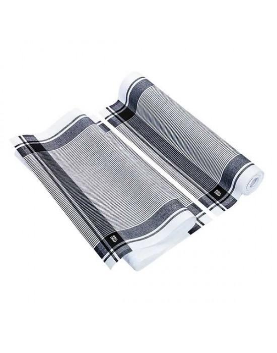 Антибактериална полираща кърпа черно каре - 40/64см