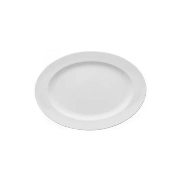 Arena Brasserie oval plate 22cm