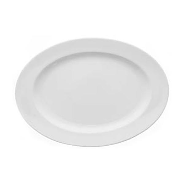 Arena Brasserie oval plate 32cm