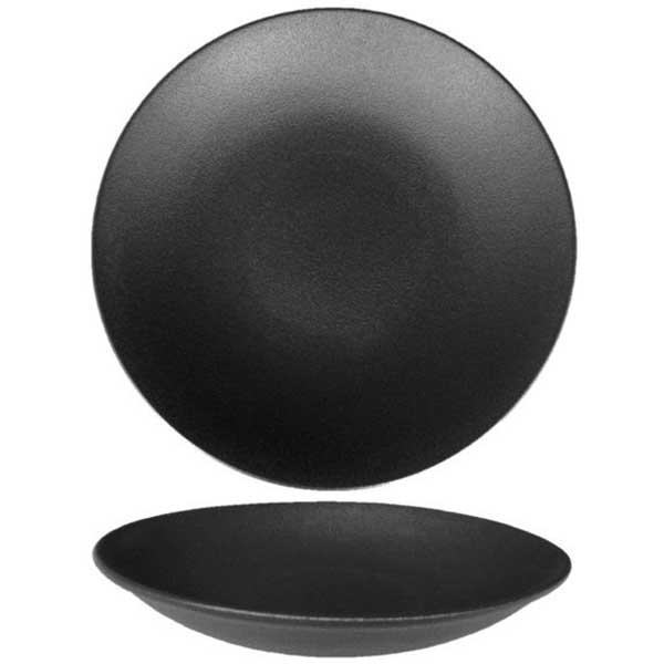 Black Dazzle Vital Coupe Rimless Plate Ø27cm