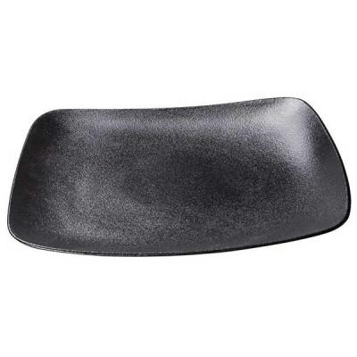 Black Dazzle Vital Coupe правоъгълна чиния Ø25cm