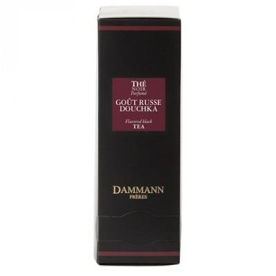 Dammann - Черен овкусен чай – GOUT RUSSE – 24 сашета
