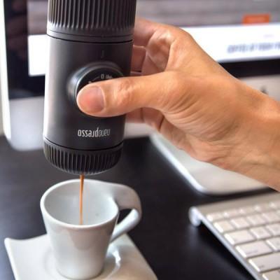 Wacaco - Nanopresso Classic + Адаптер за Nespresso капсули - Комплект