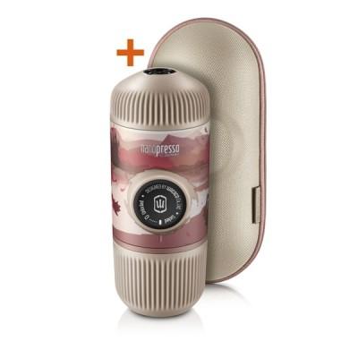 Wacaco - Nanopresso Journey Fall Break + калъф - Преносима портативна машина за еспресо