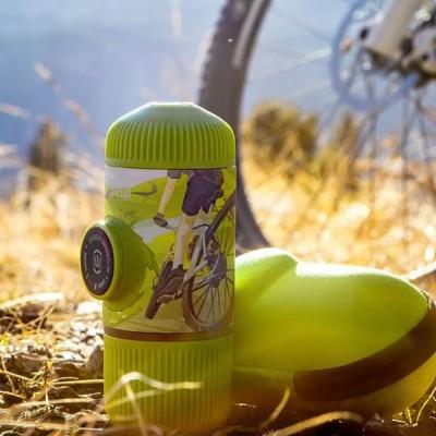 Wacaco - Nanopresso Journey Spring Run + калъф - Преносима портативна машина за еспресо