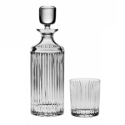Skyline Set - Bottle + 6 glasses 320 ml - Crystal Bohemia
