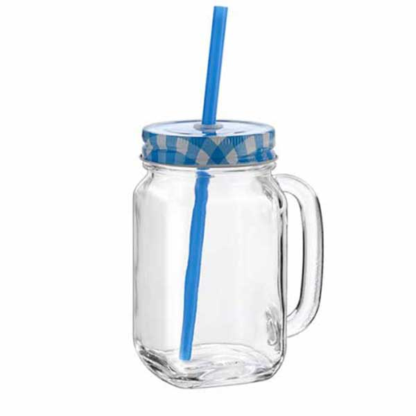 Cocktail Jar with Cap Country 480ml
