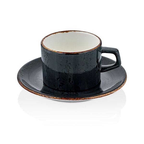 Set of tea cup and saucer - 175 ml, 14 cm - Balance