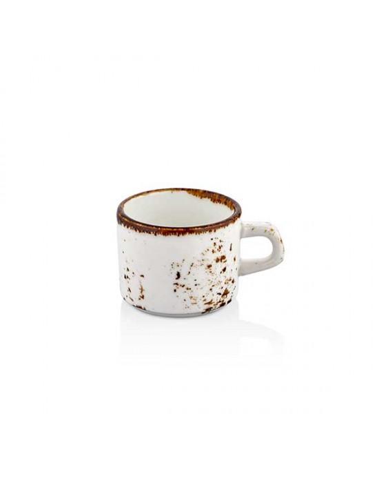 Чаша за кафе, права - 75 ml - Elegance