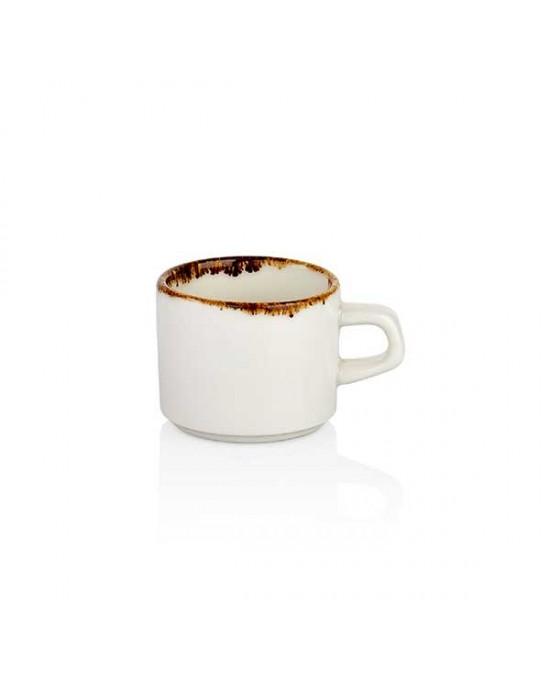Чаша за кафе, права - 75 ml - Gleam