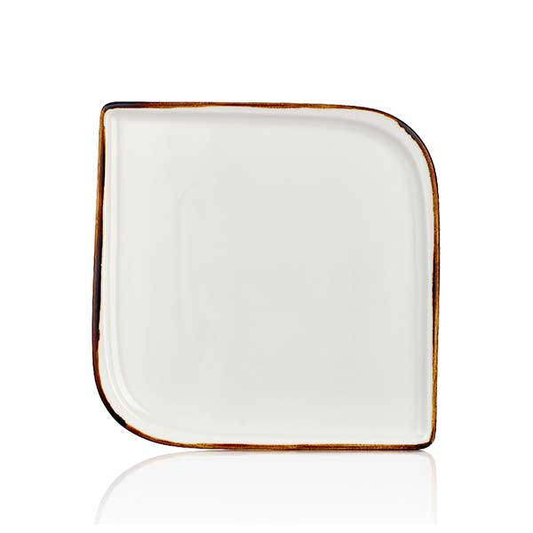 Square plate   - 30 cm - Gleam