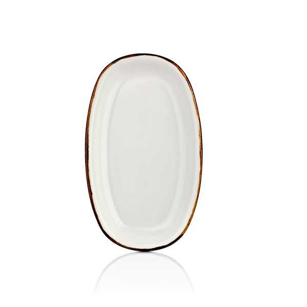 Oval plate - 24 cm - Gleam