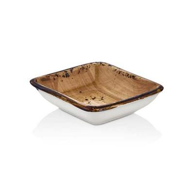 Квадратна купа - 13 cm - Vintage