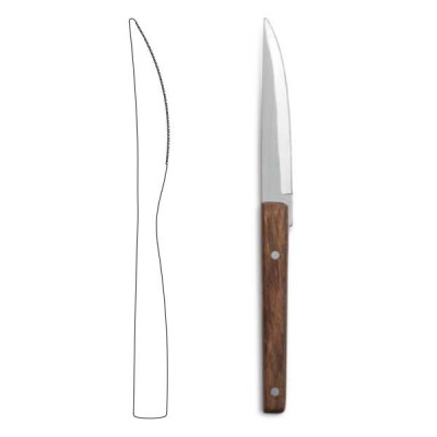 Table knife - Rosewood  Q18