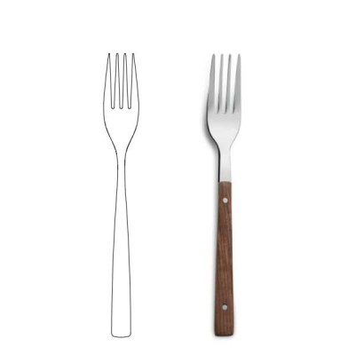 Table fork - Rosewood Q18