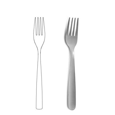 Table fork - 1001
