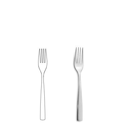 Десертна виличка - BCN Silver