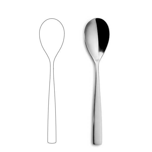 Лъжица за основно ястие - BNC Silver
