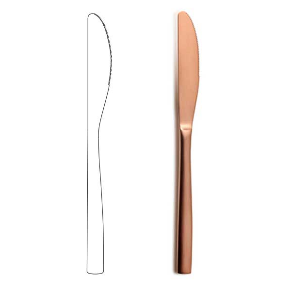 Table Knife - BNC Copper